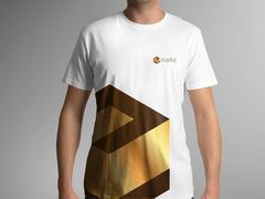 E Küp T-shirt Tasarımı