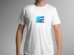 E LOGO T-shirt Tasarımı