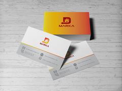 D Logo Kartvizit Tasarımı