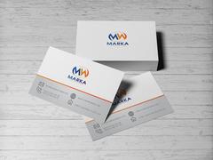 M ve W logo Kartvizit Tasarımı
