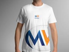 M ve W logo T-shirt Tasarımı