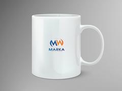 M ve W logo Mug Tasarımı