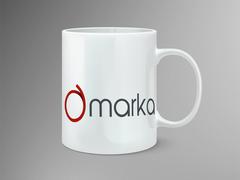A Harfi Logo Tasarımı Mug Tasarımı