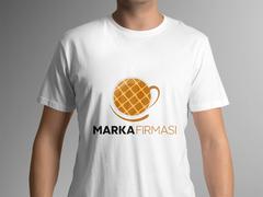 Kahve Fincanı T-shirt Tasarımı