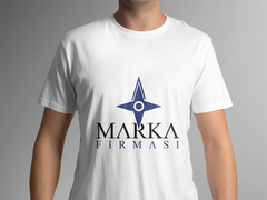 Pusula Logo T-shirt Tasarımı