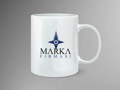 Pusula Logo Mug Tasarımı