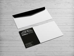 Melek Marka Logo Zarf Tasarımı