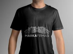Melek Marka Logo T-shirt Tasarımı