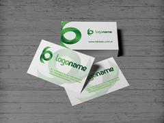 Yeşil Logo Kartvizit Tasarımı