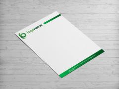 Yeşil Logo Antentli K. Tasarımı