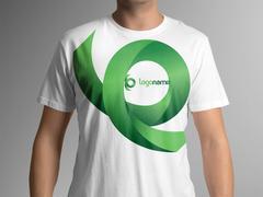 Yeşil Logo T-shirt Tasarımı