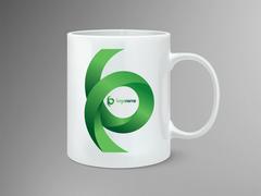 Yeşil Logo Mug Tasarımı