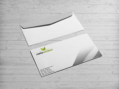 Yaprak logo Zarf Tasarımı