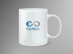 E G Logo Mug Tasarımı