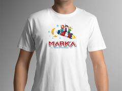Çocuklar Logo T-shirt Tasarımı