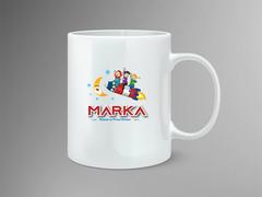 Çocuklar Logo Mug Tasarımı