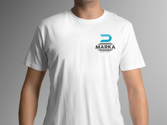 D Harfli Logo T-shirt Tasarımı