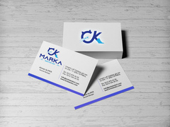 CK Logo Kartvizit Tasarımı