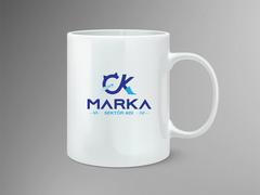 CK Logo Mug Tasarımı