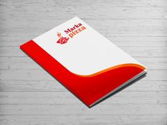 Pizza Logo Dosya Tasarımı