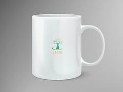 Kadın ve ağaç logo Mug Tasarımı