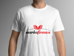 Kitaplar Marka T-shirt Tasarımı