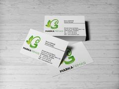 G Harfli Marka Logo Kartvizit Tasarımı