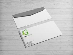 G Harfli Marka Logo Zarf Tasarımı