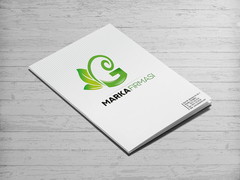 G Harfli Marka Logo Dosya Tasarımı