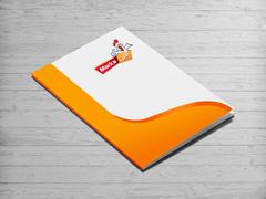 Tavuk Maskot Dosya Tasarımı
