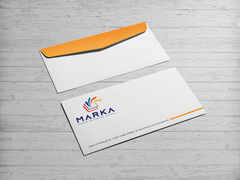Renkler Logo Zarf Tasarımı