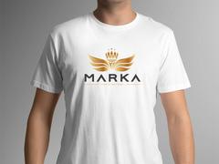 Kanatlı Taç T-shirt Tasarımı