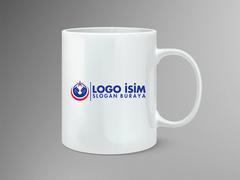 El ve ayyıldız logo Mug Tasarımı