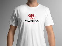E harfi logo  T-shirt Tasarımı