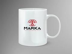 E harfi logo  Mug Tasarımı
