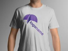 Mor Logo T-shirt Tasarımı