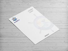 Deniz Logo Antentli K. Tasarımı