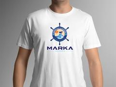 Deniz Logo T-shirt Tasarımı