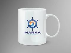 Deniz Logo Mug Tasarımı