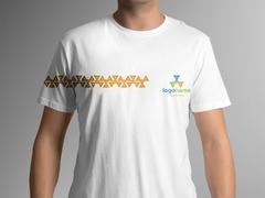 Üçgenli Logo T-shirt Tasarımı
