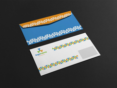 Üçgenli Logo Zarf Tasarımı
