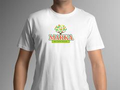 Ağaç Logo T-shirt Tasarımı
