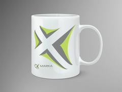 Marka Logo Mug Tasarımı