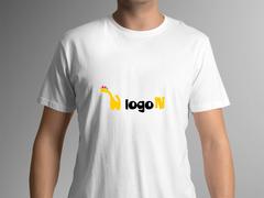 Zürafa T-shirt Tasarımı