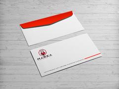Kaplan Logo Zarf Tasarımı
