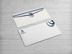 D ve B Logo Zarf Tasarımı