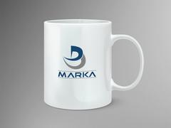 D ve B Logo Mug Tasarımı
