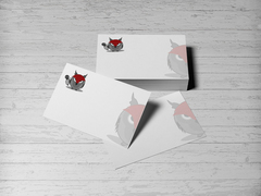 Baykuş Logo/Maskot Kartvizit Tasarımı
