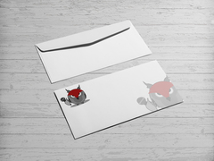 Baykuş Logo/Maskot Zarf Tasarımı
