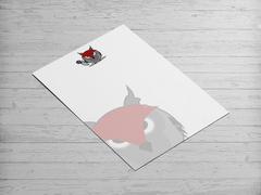 Baykuş Logo/Maskot Antentli K. Tasarımı